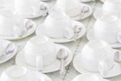 Белая чашка Стоковая Фотография