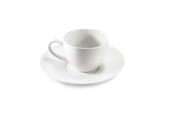 Белая чашка Стоковая Фотография RF