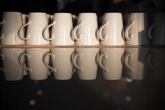 Белая чашка Стоковые Фотографии RF