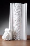 Белая штукатурка modling Стоковая Фотография