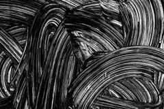 Белая щетка штрихует картину краски Стоковые Фотографии RF