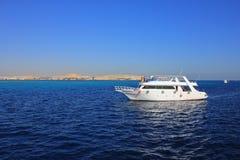 Яхта мотора Стоковая Фотография