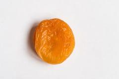 белизна абрикосов высушенная предпосылкой Стоковая Фотография RF