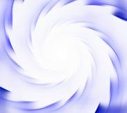 белизна абстрактной предпосылки голубая Спиральные лучи sunflare Стоковые Изображения RF