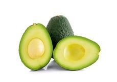 белизна авокадоа изолированная предпосылкой стоковая фотография