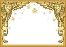 белизна ангела изолированная рождеством Стоковое Изображение RF