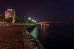белизна башни thessaloniki Стоковые Фото