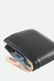 белизна бумажника типа предпосылки ретро Стоковые Фото