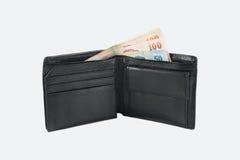 белизна бумажника типа предпосылки ретро Стоковые Изображения RF