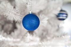 белизна вала украшения рождества Стоковое Изображение RF