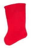белизна вектора носка иллюстрации подарка рождества красная Стоковое Фото