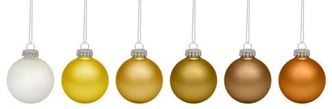 белизна вектора рождества baubles изолированная иллюстрацией Стоковое Фото