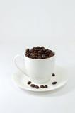 белизна вектора сетки иллюстрации кофейной чашки предпосылки Стоковое фото RF
