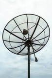белизна вектора тарелки изолированная иллюстрацией спутниковая Стоковая Фотография
