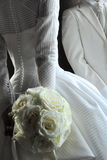 белизна венчания фонового изображения Стоковая Фотография RF
