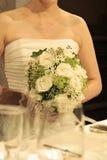 белизна венчания фонового изображения Стоковое Фото