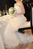 белизна венчания фонового изображения Стоковые Фото