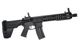 белизна винтовки предмета штурма изолированная предпосылкой Стоковое фото RF