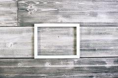 Белизна видеть-через картинную рамку Стоковое Фото