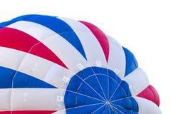 белизна воздушного шара предпосылки воздуха горячая Стоковая Фотография RF