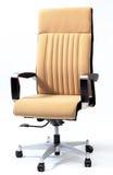 белизна вопроса офиса стула предпосылки изолированная мебелью Стоковое Фото