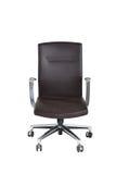 белизна вопроса офиса стула предпосылки изолированная мебелью Стоковое фото RF