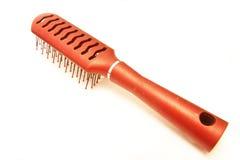 белизна волос щетки предпосылки Стоковая Фотография RF