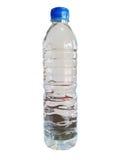 белизна воды бутылки предпосылки Стоковое Изображение