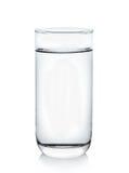 белизна воды предпосылки стеклянная Стоковое Фото