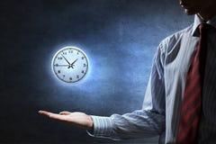 белизна времени предмета предпосылки изолированная принципиальной схемой Стоковое фото RF