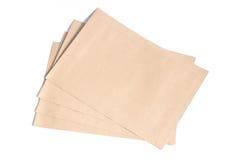белизна габарита документа предпосылки коричневая Стоковая Фотография RF