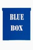 белизна голубой коробки предпосылки Стоковое фото RF