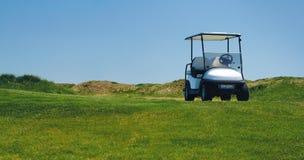 белизна гольфа автомобиля предпосылки классицистическая цветастая Стоковое Изображение
