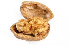 белизна грецкого ореха серии изображения еды предпосылки здоровая Стоковое Изображение RF