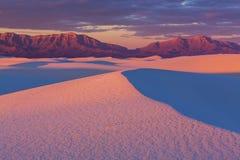 белизна Египета Сахары пустыни западная Стоковое Изображение