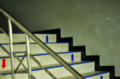 белизна лестницы 3d Стоковые Фотографии RF