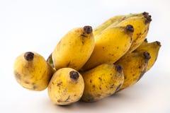 белизна еды банана предпосылки вегетарианская стоковое фото