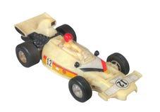 Белизна игрушки/Формула-1 автомобиля белой расы Стоковая Фотография