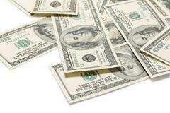 белизна изображения долларов предпосылки 3d Стоковые Фотографии RF