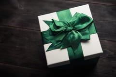 белизна изображения подарка коробки 3d Стоковая Фотография