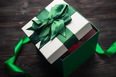 белизна изображения подарка коробки 3d Стоковое фото RF