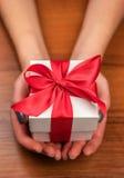 белизна изображения подарка коробки 3d Стоковые Изображения