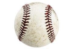 белизна изолированная бейсболом Стоковые Изображения