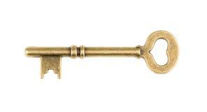 белизна изолированная предпосылкой ключевая старая без тени Стоковое фото RF