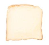 белизна изолированная хлебом отрезанная Стоковая Фотография RF