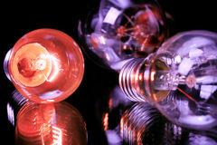 белизна изолированная шариками светлая Стоковые Изображения