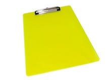белизна изолированная clipboard Стоковые Фото