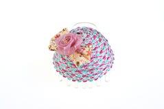 белизна изолированная hairpin симпатичная стоковые изображения