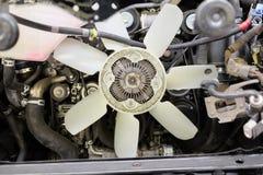 белизна изолята охлаждающего вентилятора предпосылки Стоковая Фотография RF