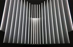 белизна изолята охлаждающего вентилятора предпосылки Стоковое Изображение RF